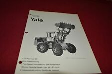 Yale 1700 Loader Guide Dealers Brochure DCPA2