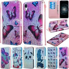 Magnetic Flip Glitter Leather Wallet Case Cover For iPhone XS Max XR 6s 7 8 Plus