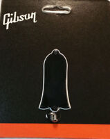 GIBSON Truss Rod Cover 2-Ply Black Blank Les Paul w/screws Guitar Genuine