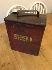 Vintage Shell Oil Drum Man Cave AUTOMOBILIA