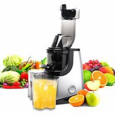 Electric Cold Press Juicer Machine Slow Fruit Vegetable Juice Extractor Maker US