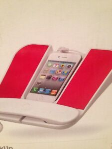 RED Cygnett SpeakUp Phone Speaker System iPhone Smartphone or 3.5mm Devices