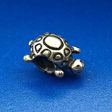 Authentic PANDORA ALE Sterling Silver 925 Sea Turtle 790158 Slide Charm Retired