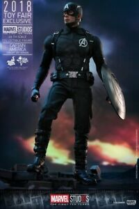 Hot Toys MMS488 Captain America Concept Art Version 2018 Exclusive NEW