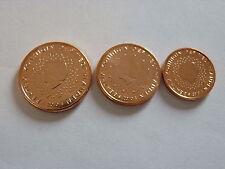 DESTOCKAGE : PIECES  1+2+5  CT  PAYS BAS  ANNEE  2001  NEUVES