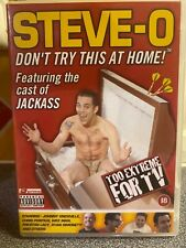 Steve O Don't try this at home DVD