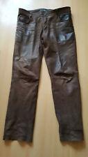 Luis Steindl Herren Lederhose 5-Pocket Style Gr.54 braun
