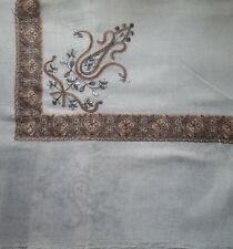 Pashmina cashmere Kashmiri Shawl Embroidery Shemagh scarf Unisex Yemeni arabian