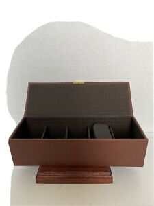 Watch Box Organizer For Men And Women - Jewelry Watch Case Display (5 Slot)