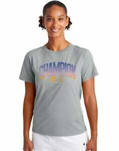 Champion Women's Classic Tee, Ombre Arch Logo