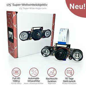 Electreeks ® Raspberry Pi Kamera Infrarot Nachtsicht | Fisheye Camera Module V2