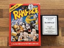 Atari 2600  :  RAMPAGE  en boite !