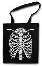 SKELETON I STOFFTASCHE Bones Halloween Karneval Skull Fear The