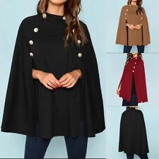 ZANZEA Women Winter Outerwear Coat Jacket Cardigan Cardis Poncho Top Cloak Cape