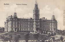 Parliament Buildings QUEBEC QC Canada 1907-15 Illustrated Postcard Co. 4554