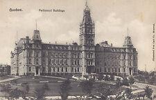 Parliament Buildings QUEBEC QC Canada 1907-15 Illustrated Postcard Co. 4554