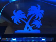 Laser-Etched, Lit Acrylic Chevrolet SSR Windsuppressr,Windscreen,Wind Deflector