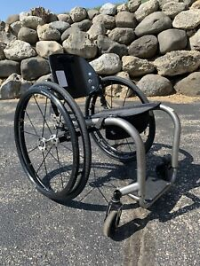 TiLite ZRA Wheelchair Titanium  Carbon Fiber Ultralight Rigid Adjustable