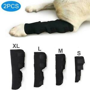 1 Pair Dog Leg Brace Hock Joint Knee Support Rear Therapeutic Best Pet S6V2
