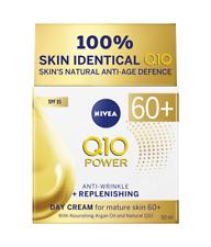 Nivea Day Cream Anti-Aging 60+ Argan Oil Regenerating 24H Hydration Daily Use