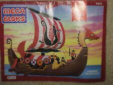 Mega Bloks Legend Viking Ship 9604 by Ritvik Building Toy