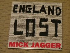 NEW/SEALED Mick Jagger: England Lost/Gotta Get A Grip CD single (Rolling Stones