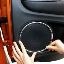 Chrome Car Door Speaker Audio Ring Cover Trim For Honda HR-V HRV 2014-2017