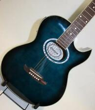 Onyx Acoustic Guitar (Blue with Black Burst)