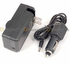 Battery Car Charger f Olympus PS-BLM1 BLM-1 E-520 E-510