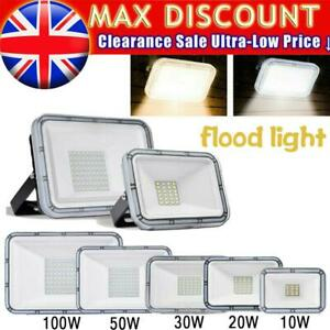 10W-300W LED Floodlight Outside Light Security Flood Lights IP65 Outdoor Garden