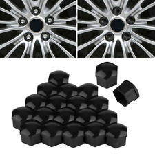 20PC 17mm Wheel Lug Nut Bolt Cover Cap Dust Cover Rims Tire With Removal Clip