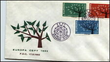 1962 EUROPA Satz Marken Türkei Turkiye ANKARA Stempel