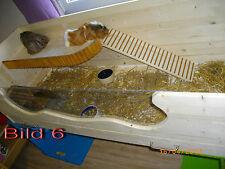 Meerschweinchengehege mit Urkunde, ca.144 x 60cm, Balkon, urinfeste Wanne
