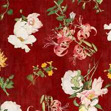 Wilmington Birdsong by Graphics 45 - 85561 317W Red Floral BTY Cotton Fabric