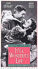 It's a Wonderful Life [VHS], New VHS, Frank Faylen, Donna Reed, Lionel, Frank Ca