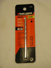 "Black & Decker 3/16"" Bullet  Premium Masonry Bit , 4-Inch X 1/4"" #16731"