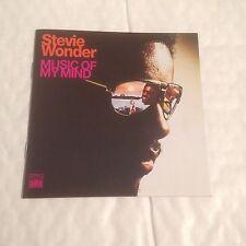 Stevie Wonder - Music of My Mind (2000) CD 1972  Motown Soul