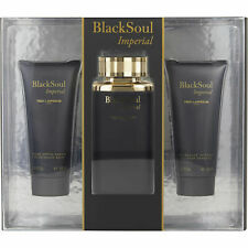 Black Soul Imperial By Ted Lapidus Gift Set for Men