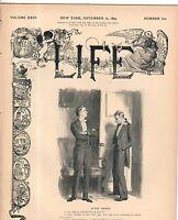 1894 Life November 15-Czar of Russia dies; Horse show;Tuxedo Park NJ;Gibson Girl