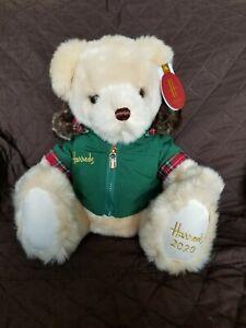 Harrods 2020 Annual Christmas Bear Nicholas NWT No Box