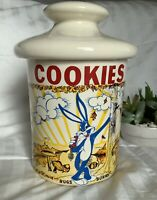 VINTAGE Warner Brothers 1966-69 Bugs Bunny Cookie Jar by Nelson McCoy Pottery Co