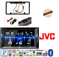 JVC KW-V130BT Double DIN Bluetooth In-Dash DVD Car Stereo W/ Rearview Camera