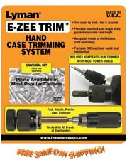 7821890 Lyman * E-ZEE TRIM Hand Case Trimmer (NO PILOTS) 7821890 * New!