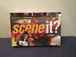 ASSORTED SCENE IT? DOCTOR WHO GAME PARTS ( CHOOSE ).