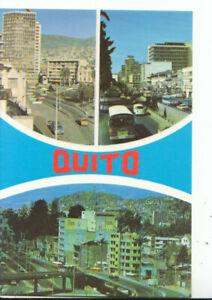 Ecuador Postcard - Views of Quito - Ref 13712A