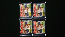 1990 Panini Baseball Sticker Pack 4 Pack Lot