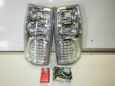 HOLDEN COMMODORE VT VX VU VY VZ Ute Wagon LED Altezza Taillights CHROME LED NEW