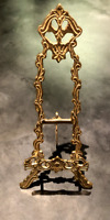 EASEL PICTURE PLATE BOOK PHOTO DISPLAY HOLDER ORNATE VICTORIAN VINTAGE STYLE