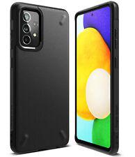 Para Samsung Galaxy A72/A52/A32 5G/A12 caso Ringke [Onyx] Anti-huella digital