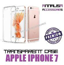 CUSTODIA TRASPARENTE PER APPLE IPHONE 7 COVER PROTEZIONE SILICONE TPU SLIM CASE